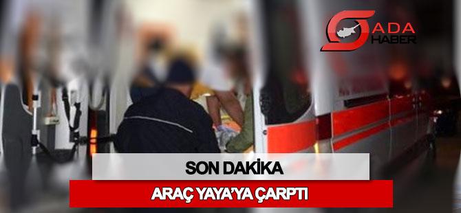 UKÜ önlerinde kaza: Yayaya çaptı