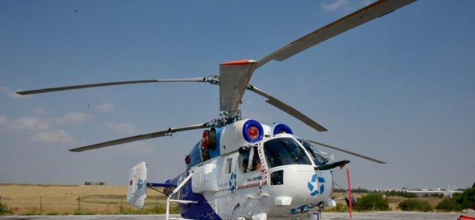 Bakan Çavuşoğlu, yangın helikopterini teslim aldı