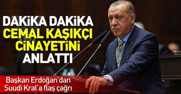 Erdoğan, Kaşıkçı cinayetiyle ilgili açıklamalarda bulundu