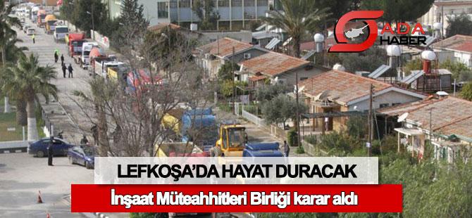 Lefkoşa'da 'araçlı eylem' yapma kararı alındı
