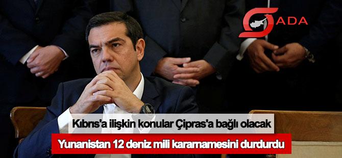 Kıbrıs'a ilişkin konular doğrudan Çipras'a bağlı olacak