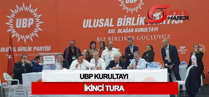 UBP Başkanlık yarışı ikinci tura kaldı