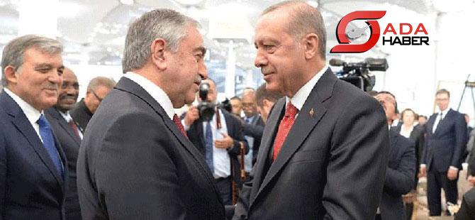 Akıncı, İstanbul Havalimanı'nın açılışına katıldı