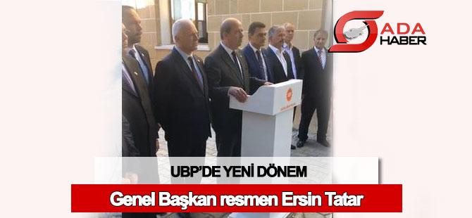 UBP'de yeni dönem