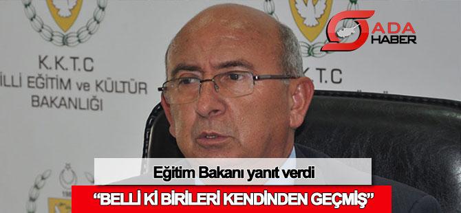 Eğitim Bakanı 10 Kasım eleştirilerine yanıt verdi