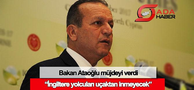 Bakan Ataoğlu müjdeyi verdi