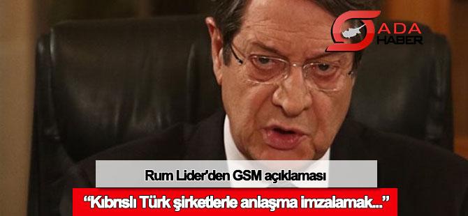Rum Lider'den GSM açıklaması