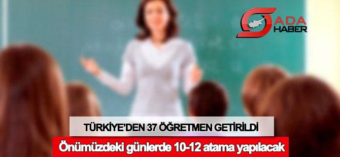 Türkiye'den 37 ithal öğretmen getirildi