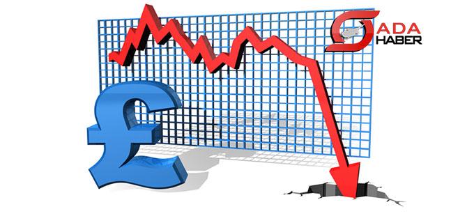 Sterlinde sert değer kayıpları yaşanıyor