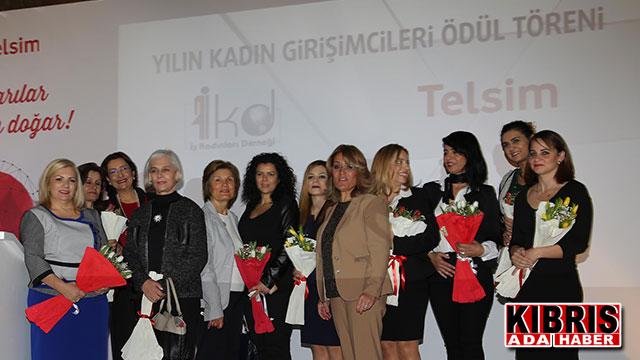 'Yılın Kadın Girişimcileri Ödülleri' verildi