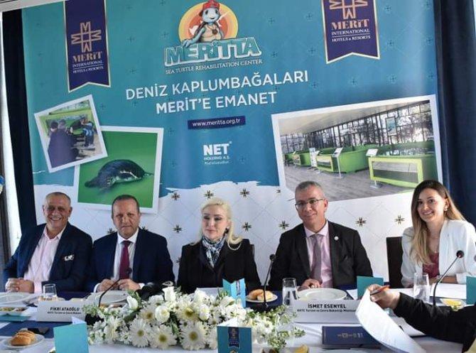 Meritta Carettaları Koruma ve Rehabilite Etme Merkezi basına tanıtıldı