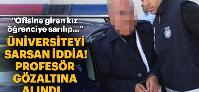 DAÜ'de profesör, 'cinsel taciz' iddiasıyla gözaltına alındı