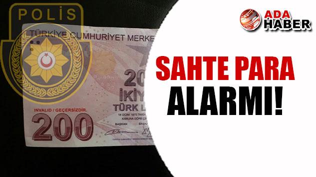 Dikkat! Polisten sahte para uyarısı!