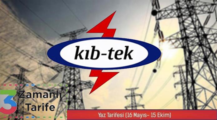 KIB-TEK yaz tarifesine geçiyor