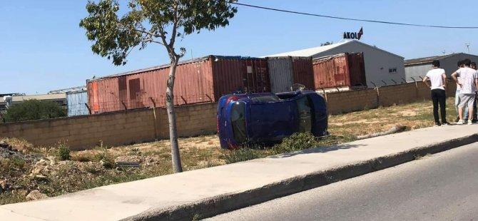 Mağusa'da kaza: 3 yaralı