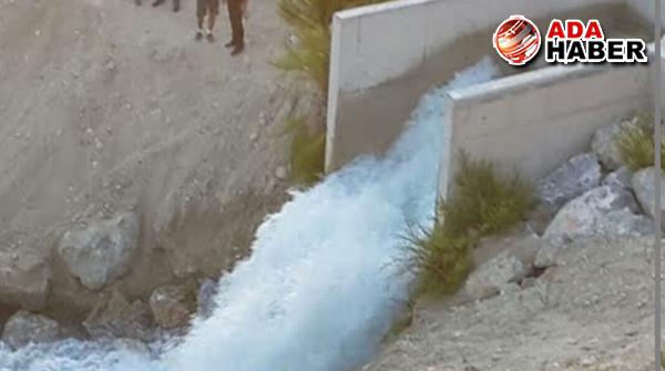 Suyun tarım amaçlı kullanımı için DÜĞMEYE BASILIYOR!