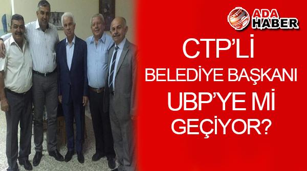 CTP'li Belediye Başkanı Latif, UBP'ye mi geçiyor?