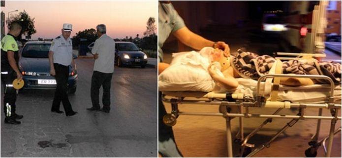 5 yaşındaki çocuğa araba çarptı!