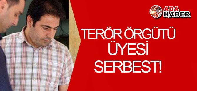 Terör örgütü üyesi SERBEST!