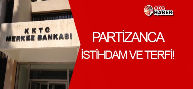 Merkez Bankası'nda 'partizanca istihdam ve terfi' iddiası!