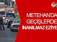 Rum polisi, GEÇİŞLERDE 'büyük eziyete' yol açıyor!