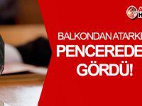 Akdoğan Davası'nda ŞOK İFADE: Pencereden gördü!