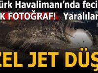 Son dakika: Atatürk Havalimanı'nda feci kaza!