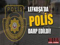 Polis memuru görevi başında saldırıya uğradı!