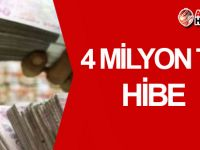 4 milyon TL hibe