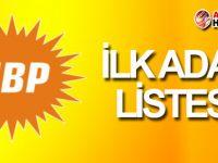 UBP'nin ilk aday listesi açıklandı!