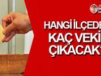 YSK, ilçelerin çıkaracağı milletvekili sayısını açıkladı