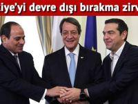 KKTC ve Türkiye'yi saf dışı bırakma zirvesi!