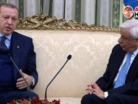 Erdoğan'dan Yunanistan'da Kıbrıs vurgusu!