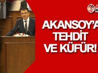 Zaroğlu'ndan Akansoy'a TEHDİT!