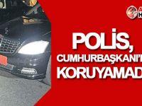 Polis, Cumhurbaşkanı Akıncı'yı koruyamadı!