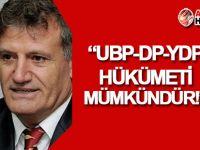 Arıklı: UBP-DP-YDP hükümeti mümkündür!