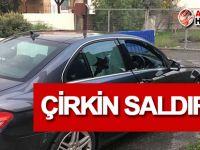 Güney'e geçen Kıbrıslı Türk'ün aracına saldırı!