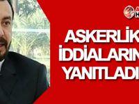 Zaroğlu, askerlik iddialarına yanıt verdi!