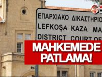 Lefkoşa Rum Kaza Mahkemesi'nde patlama