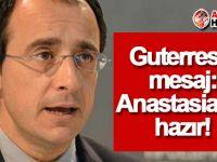 Rum Dışişleri Bakanı'ndan Guterres'e mesaj