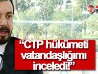 Zaroğlu: Vatandaşlığım incelendi, yasaya aykırılık yok!