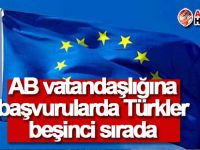 AB vatandaşlığına başvurularda Türkler beşinci sırada