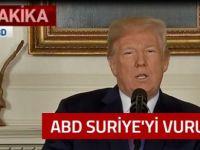 ABD, Suriye'yi vurmaya başladı!
