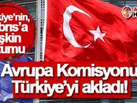 Avrupa Komisyonu Türkiye'yi akladı!