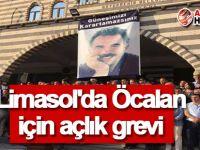 Limasol'da Öcalan için açlık grevi