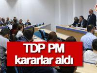 TDP Parti Meclisi kararlar aldı