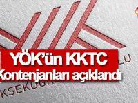 YÖK'ün KKTC Kontenjanları açıklandı