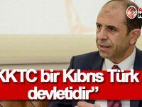 Özersay: KKTC bir Kıbrıs Türk devletidir
