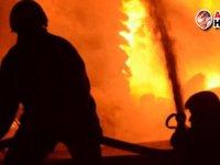 Limasol bölgesinde büyük yangın