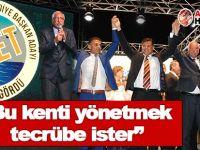Güngördü, UBP Girne Aday Tanıtım Şöleni'ne katıldı